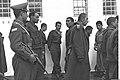 GROUP OF SYRIAN PRISONERS OF WAR CAPTURED AFTER LAKE KINNERET ACTION, UNDER ISRAELI GUARD..jpeg