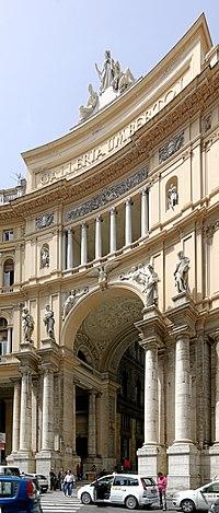Galleria Umberto I – esterno – Napoli 2013-05-16 BW.jpg