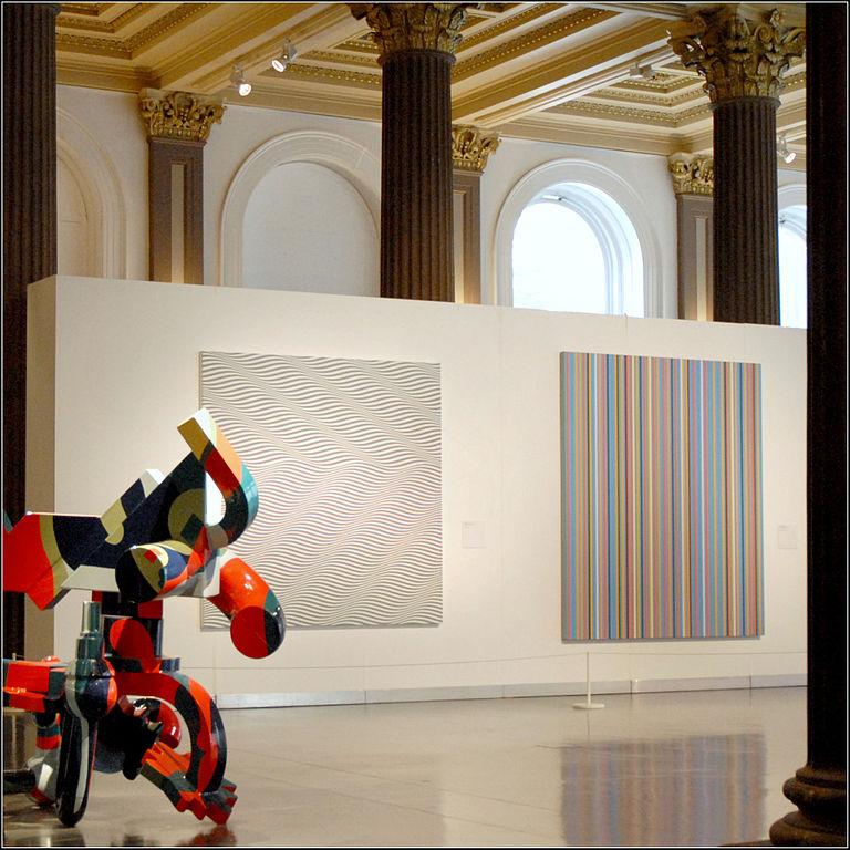 Exposition dans le musée d'art moderne de Glasgow - Photo de Jean Pierre Dalbéra.