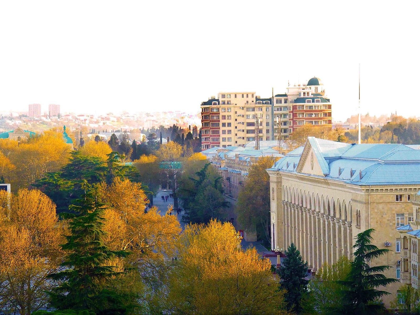 City of Ganja, Azerbaijan