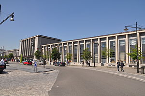 Mons railway station - Previous Mons Railway Station