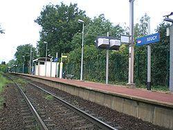 Seugy station