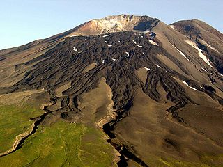 Gareloi Volcano Stratovolcano in the Aleutian Islands of Alaska, U.S.