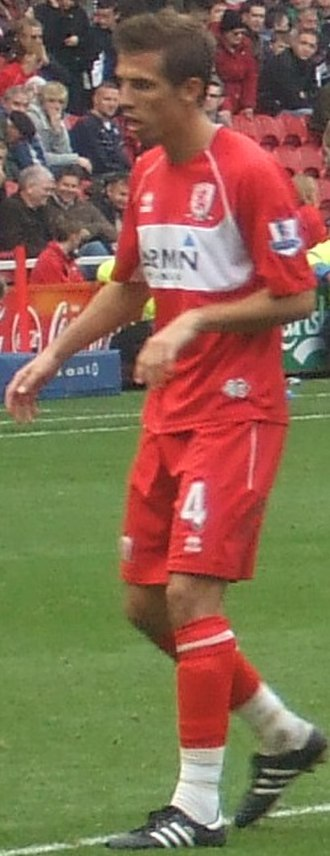 Gary O'Neil - O'Neil playing for Middlesbrough in 2008