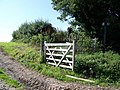 Gate and footpath, Cuckhold's Green - geograph.org.uk - 1435830.jpg