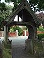 Gate to the church, Holy Trinity, Platt - geograph.org.uk - 1393189.jpg