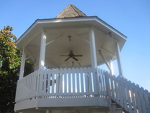Columbia County, Arkansas - Gazebo at Columbia County Courthouse