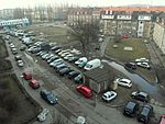 Gdańsk Nowy Port plac przed falowcem.JPG