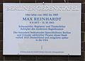 Gedenktafel Fontanestr 8 (Grunew) Max Reinhardt.JPG
