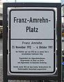 Gedenktafel Franz-Amrehn-Platz (Stegl) Franz Amrehn.jpg