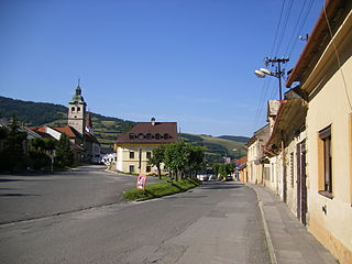Gelnica Town in Slovakia