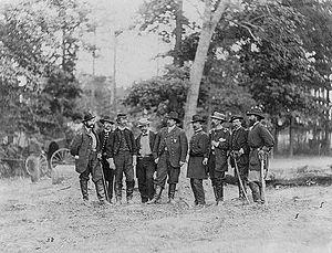 William Farrar Smith - General William Farrar Smith and staff