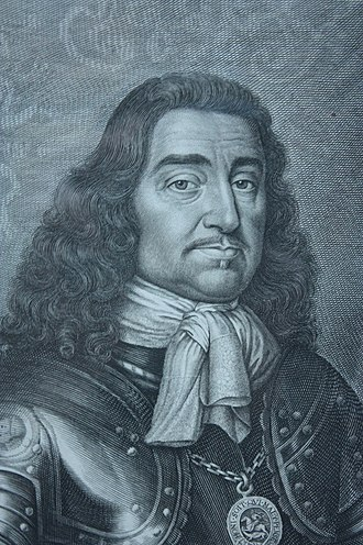 George Monck, 1st Duke of Albemarle - General Monck as engraved by David Loggan, 1661, National Portrait Gallery, London