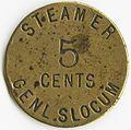 General Slocum token.jpg