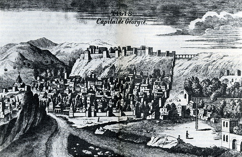 File:General view of Tiflis. Engraved by Tournefort in 1701.jpg