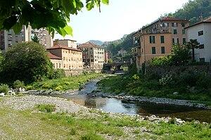 Polcevera - Image: Genova Pontedecimo Polcevera