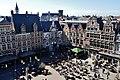 Gent Sint Veerleplein viewed from Burg Gravensteen 2.jpg