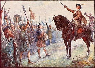 Charles Edward Stuart - Prince Charles in the battlefield