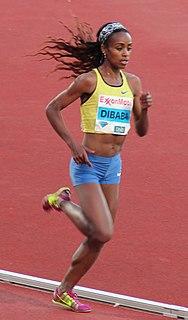 Ethiopian distance runner