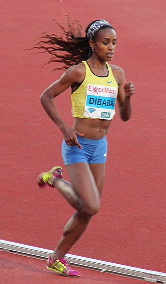 Genzebe Dibaba - Dibaba in 2015