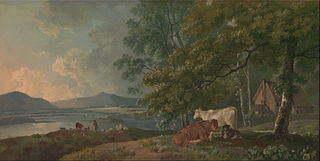 Morning: Landscape with Cattle