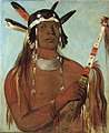 George Catlin - Seehk-hée-da, Mouse-colored Feather, a Noted Brave - 1985.66.132 - Smithsonian American Art Museum.jpg
