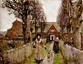 George Clausen, 1881 - Gaywood Almshouses, Kings-Lynn.jpeg