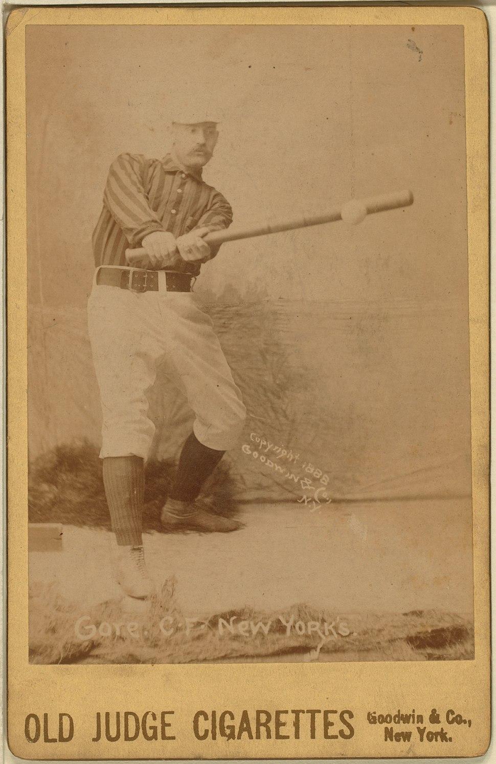 George Gore baseball card