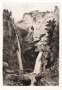George Loring Brown (1814-1889), Falls of Tivoli.jpg