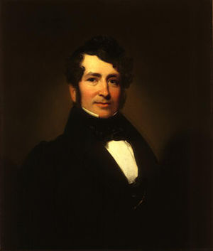 George Pope Morris - George Pope Morris, 1836, oil on canvas by Henry Inman