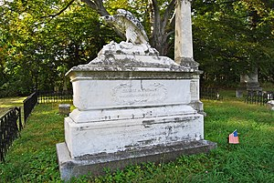 George Henry Thomas - Memorial to Thomas in Oakwood Cemetery