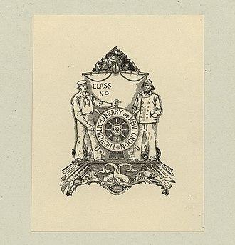 George Wharton Edwards - Image: George Wharton Edwards Bookplate The Public Library of New London