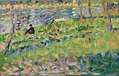 Georges Seurat - Paysage, homme assis PC 114.jpg