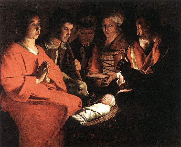 File:Georges de La Tour - Adoration of the Shepherds - WGA12348.jpg