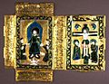 Georgian - Book Cover with the Resurrection and Crucifixion - Walters 44269 - Open.jpg