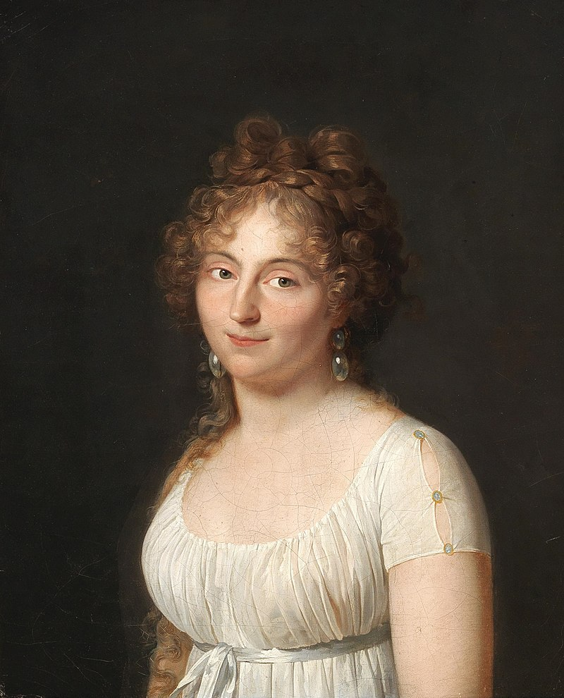 Gerhard von Kügelgen (attrib.) - Portrait of a young lady.jpg