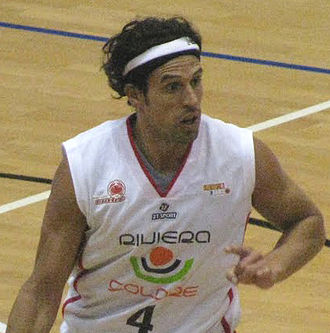 Basket Rimini Crabs - Germán Scarone