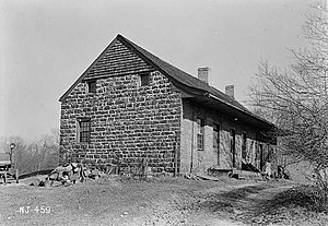 Old Tappan, New Jersey - Gerrit Haring House in 1937