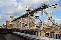 Getreideverkehrsanlage, Pier A - Elevator in Bremen, Getreidestraße.jpg