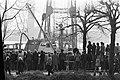 Gezonken schip Prinses Irene in Keulen gelicht, doden geborgen schip in de ta, Bestanddeelnr 927-8848.jpg