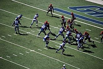 2008 New York Giants season - Image: Giants Bengals 1