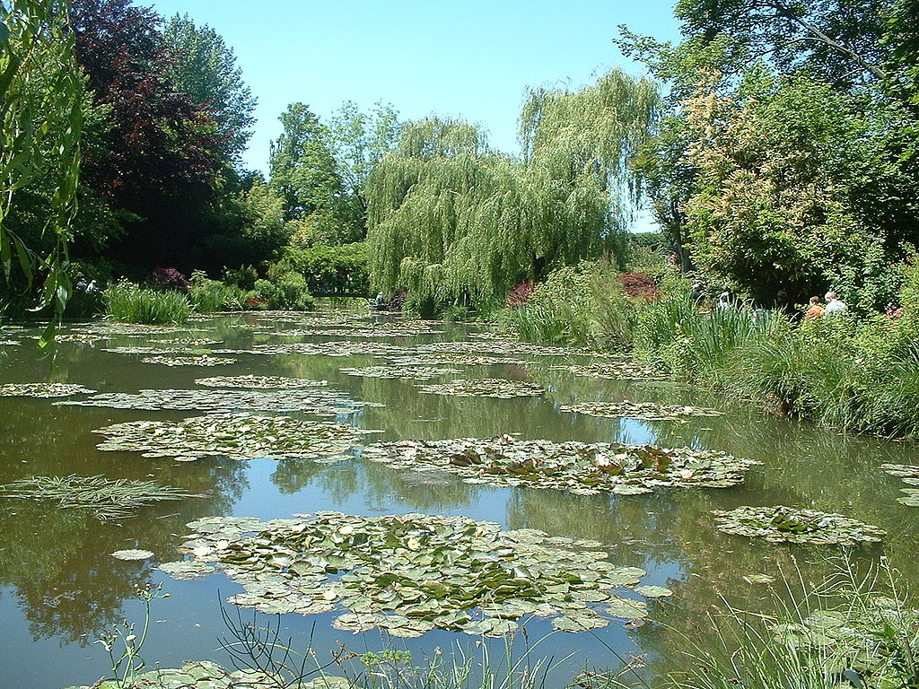 File giverny wikimedia commons - Les jardins de monet ...