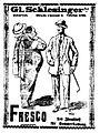 Gl. Schlesinger S-r, Fresco patentiert, Bukarester Tagblatt, 16 sept 1911.JPG