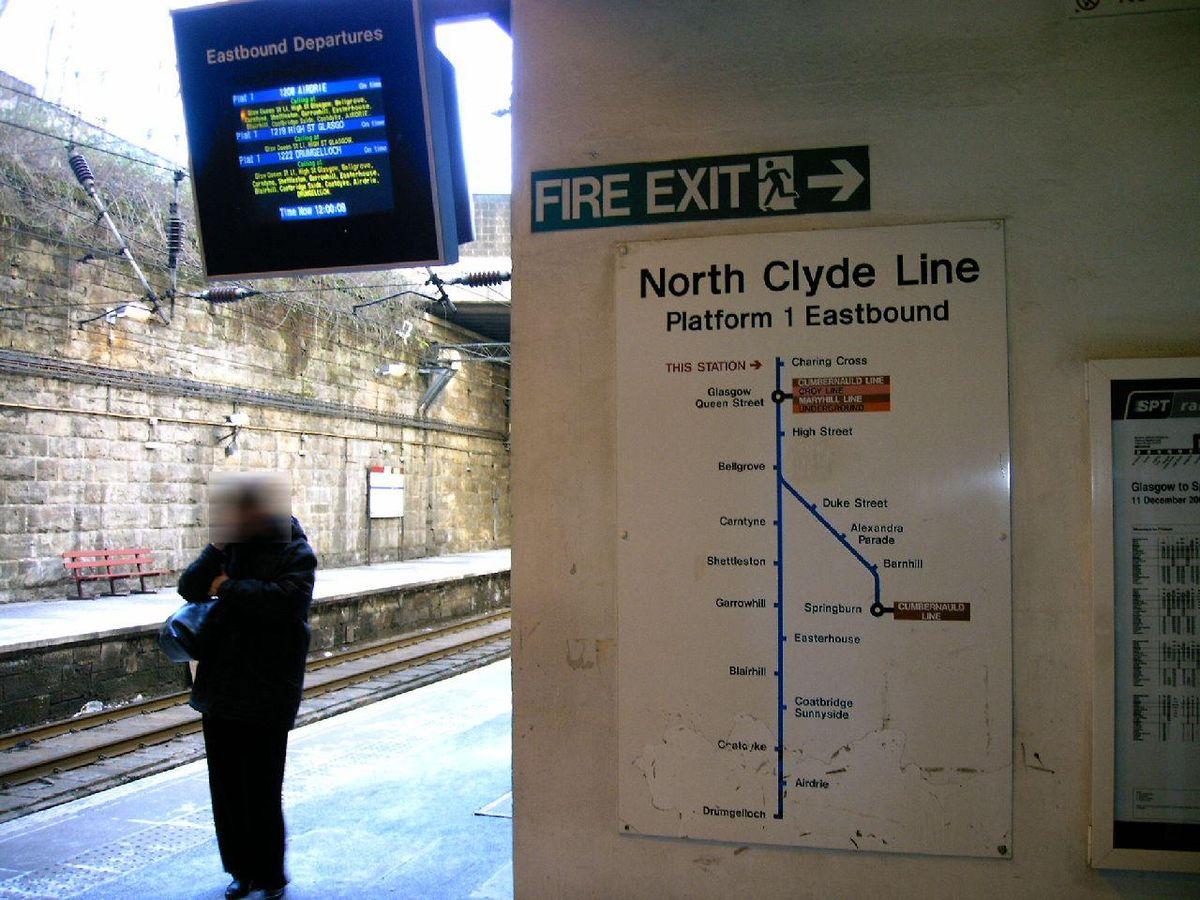 Charing Cross Glasgow railway station Wikipedia