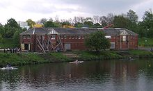 East boathouse on Glasgow Green