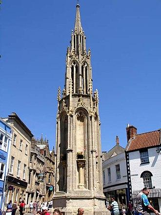 Benjamin Ferrey - Part of the Market Cross in Glastonbury