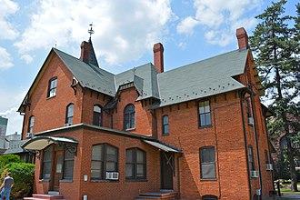 Spring Grove, Pennsylvania - Glatfelter House on Main Street