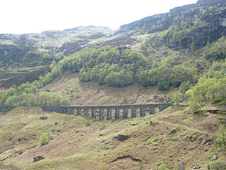 Callander and Oban Railway - Gen Ogle viaduct