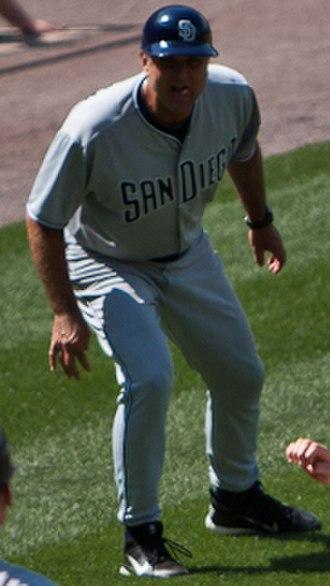 Glenn Hoffman - Hoffman with the San Diego Padres in 2011