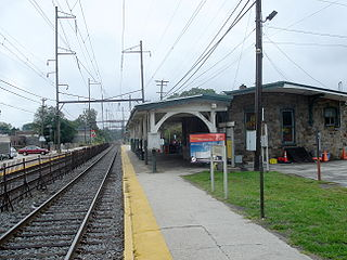 Glenside station SEPTA Regional Rail station